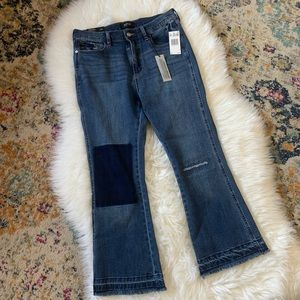 Ladies Buffalo High Rise Crop Flare Size 30